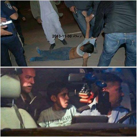 איך שלא נביט על זה, זו תמונה בעייתית מאוד של מעצר של ילד בן 11!
