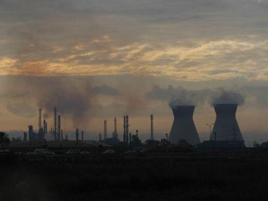 מפרץ חיפה - זיהום אוויר